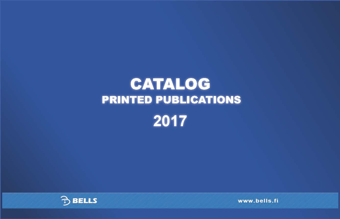 Catalog of printed publications