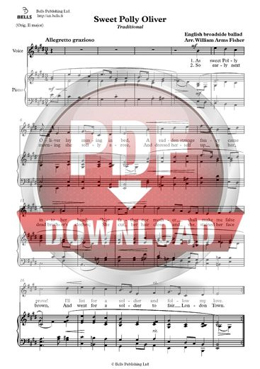 Trad. (arr. William A. Fisher): Sweet Polly Oliver
