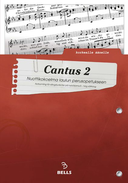 Cantus 2 - for high voice