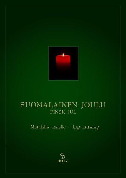 Finnish Christmas (Suomalainen joulu) - for low voice